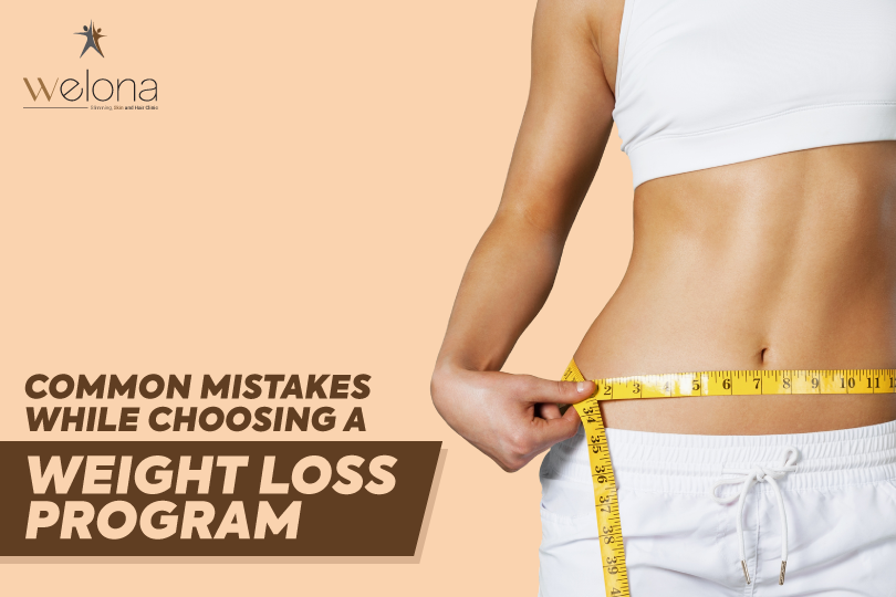 Common Mistakes Choosing A Weight Loss Program