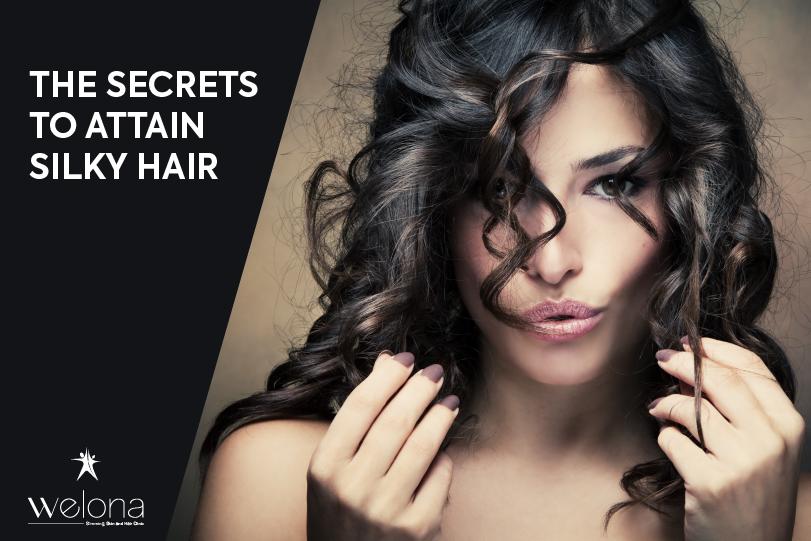 Secrets to Attain Silky Hair