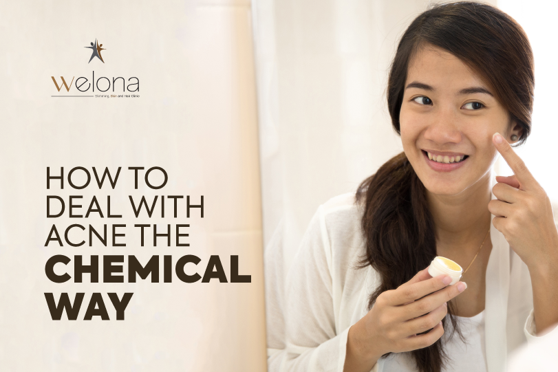 How To Deal With Acne The Chemical Way