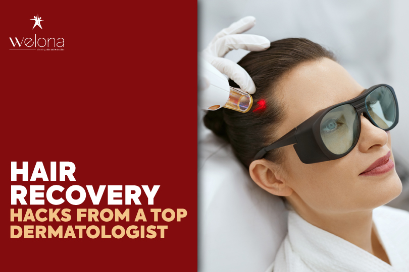 Dermatologists hair recovery tips