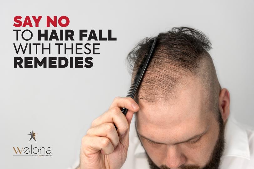 Say No To Hair Fall