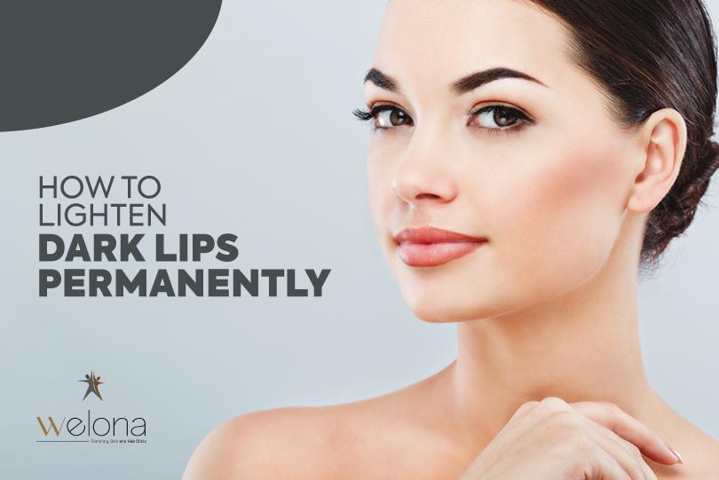 Lightening Dark Lips