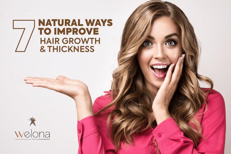 Natural Ways To Improve Hair Growth