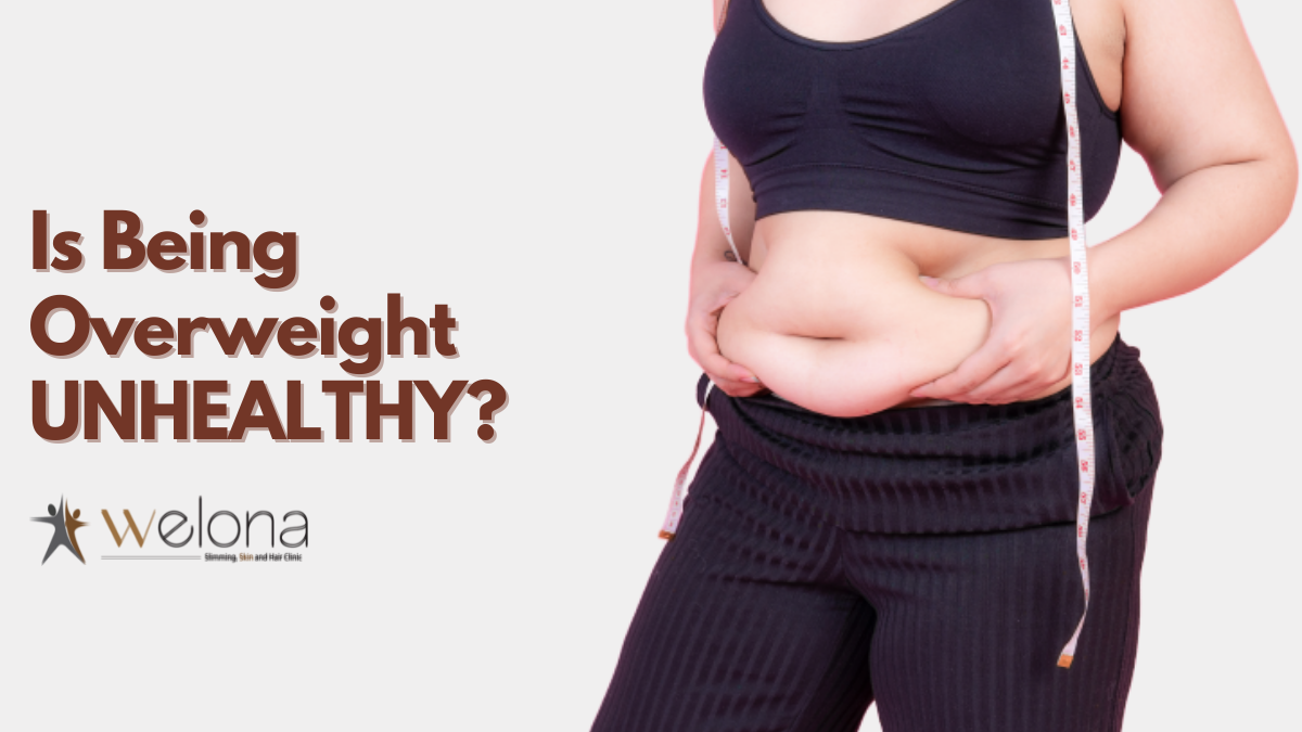 Is Being Overweight and Unhealthy the Same?