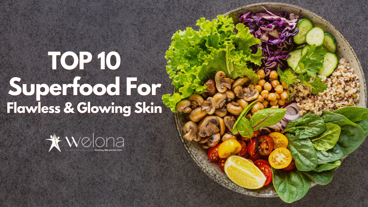 Top 10 Superfoods for Flawless and Clear Skin