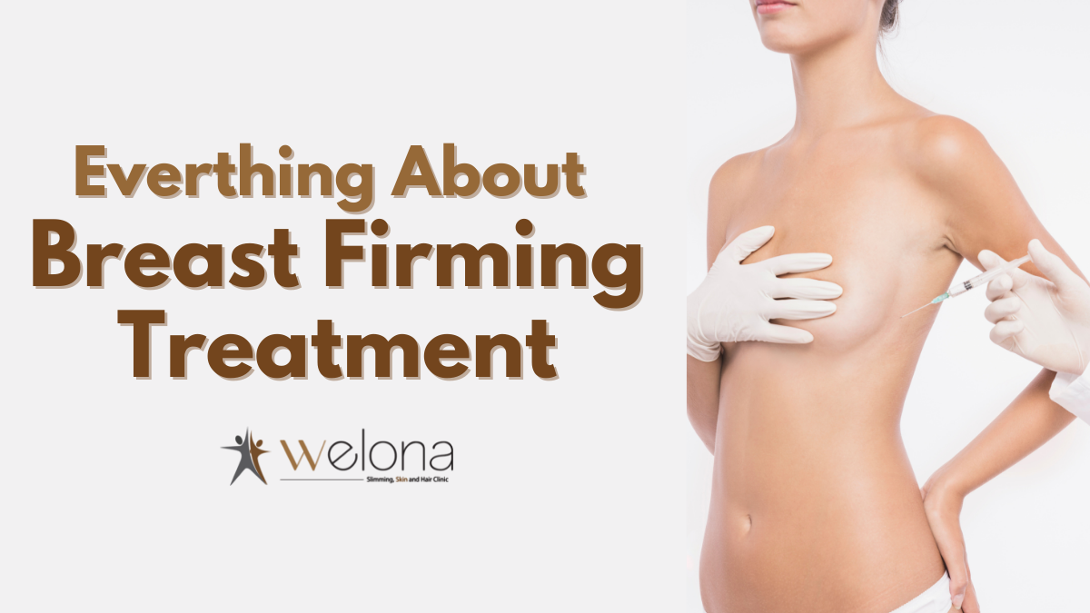 Treatment for sagging breast